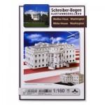 Puzzle  Schreiber-Bogen-613 Maquette en carton : Maison Blanche