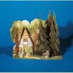 Schreiber-Bogen-620 Maquette en Carton : Univers du Conte : Le Petit Chaperon Rouge