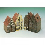 Schreiber-Bogen-662 Maquette en Carton : 4 Maisons de Lüneburg II