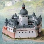 Puzzle  Schreiber-Bogen-670 Maquette en Carton : Château du Palatinat sur le Rhin près de Kaub