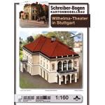 Puzzle  Schreiber-Bogen-674 Maquette en Carton : Théâtre Wilhelma Stuttgart