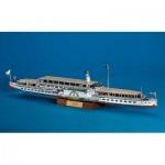 Puzzle  Schreiber-Bogen-696 Maquette en Carton : Le bateau à vapeur Dresden