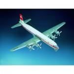 Puzzle  Schreiber-Bogen-70933 Maquette en Carton : Douglas DC-7C