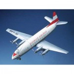Puzzle  Schreiber-Bogen-71077 Maquette en Carton : Vickers Viscount