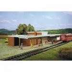 Puzzle  Schreiber-Bogen-71403 Maquette en Carton : Station Bodenheim