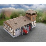 Puzzle  Schreiber-Bogen-717 Maquette en Carton : Caserne de Pompiers