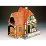 Puzzle  Schreiber-Bogen-72182 Maquette en Carton : Ferme