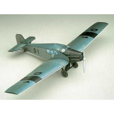 Puzzle Schreiber-Bogen-72189 Maquette en Carton : Junkers F 13