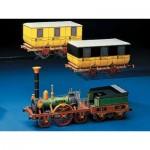 Puzzle  Schreiber-Bogen-72215 Maquette en Carton : Train des Aigles de Ludwig