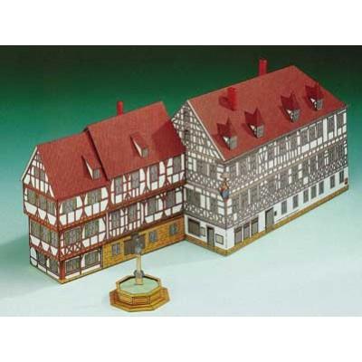 Puzzle Schreiber-Bogen-72235 Maquette en Carton : Maison Coquine  Forchheim