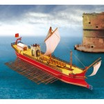 Puzzle  Schreiber-Bogen-723 Maquette en Carton : Quinquereme Romain