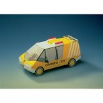 Puzzle  Schreiber-Bogen-72368 Maquette en carton : Camion ÖAMTC