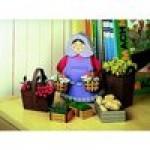 Puzzle  Schreiber-Bogen-72376 Maquette en carton : Femme avec ses paniers