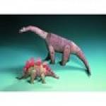 Puzzle  Schreiber-Bogen-72438 Maquette en carton : Deux dinosaures