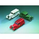 Puzzle  Schreiber-Bogen-72442 Maquette en Carton : Mercedes Benz 170 V : trois modèles