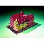 Puzzle  Schreiber-Bogen-72444 Maquette en Carton : Hôtel Eisenhut Rothenbourg