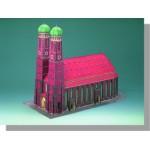 Puzzle  Schreiber-Bogen-72459 Maquette en Carton : Cathédrale de Munich
