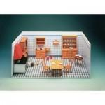 Puzzle  Schreiber-Bogen-72469 Maquette en Carton : Vieille cuisine