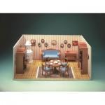 Puzzle  Schreiber-Bogen-72470 Maquette en Carton : Chambre Biedermeier