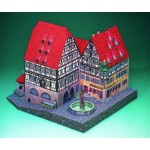 Puzzle  Schreiber-Bogen-72474 Maquette en Carton : Pharmacie Marie à Rothenbourg