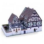 Puzzle  Schreiber-Bogen-732 Maquette en Carton : Hôpital Médiéval Blaubeuren