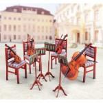 Puzzle  Schreiber-Bogen-737 Maquette en Carton : Quatuor à cordes