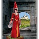 Puzzle  Schreiber-Bogen-744 Maquette en Carton : Kunigunde, Demoiselle du Château