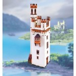 Puzzle  Schreiber-Bogen-745 Maquette en Carton : Tour de la Souris près de Bingen am Rhein