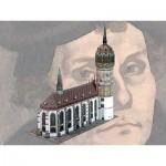 Puzzle  Schreiber-Bogen-758 Maquette en Carton : Eglise du Château de Wittenberg