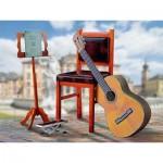 Puzzle  Schreiber-Bogen-762 Maquette en Carton : Guitare