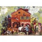 Puzzle  Schreiber-Bogen-769 Maquette en Carton : Moulin à eau romantique