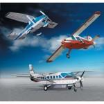 Maquette en carton : 3 petits avions