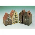 Maquette en Carton : 4 Maisons de Lüneburg II