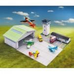 Puzzle   Maquette en Carton : Aérodrome