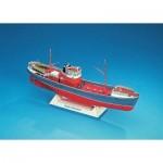 Puzzle   Maquette en Carton : Bateau de pêche Gustav Dahrendorf