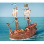 Puzzle   Maquette en Carton : Bateau Pirate