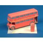 Puzzle   Maquette en carton : Bus londonien