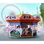 Puzzle   Maquette en Carton : Carousel