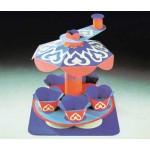 Puzzle   Maquette en carton : Carrousel oriental