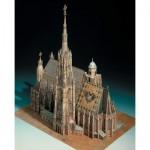 Puzzle   Maquette en Carton : Cathédrale Saint-Étienne à Vienne