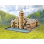 Puzzle   Maquette en Carton : Château de Mespelbrunn