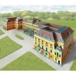 Puzzle   Maquette en carton : Château de Schönbrunn