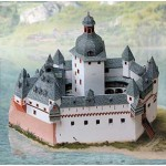 Puzzle   Maquette en Carton : Château du Palatinat sur le Rhin près de Kaub