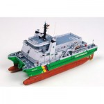 Puzzle   Maquette en Carton : Croiseur des Douanes Allemandes Helgoland / Borkum
