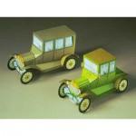 Maquette en Carton : Deux voitures anciennes Ford T