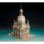 Puzzle   Maquette en carton : Eglise de Dresde, Allemagne
