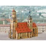 Puzzle   Maquette en Carton : Eglise Stuttgart