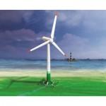 Puzzle   Maquette en Carton : Éolienne