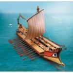 Puzzle   Maquette en Carton : Galère Grecque