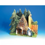 Maquette en Carton : Hansel and Gretel